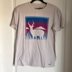 Men's UO Toddland Ombré Deer Tee